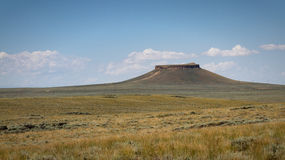 Pilot Butte Royalty Free Stock Photography