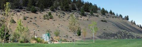 Pilot Butte State Park royaltyfria bilder