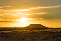 Pilot Butte, Wyoming Royaltyfria Bilder