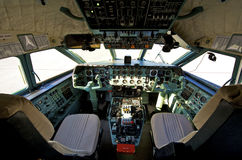 Pilot cockpit Royalty Free Stock Images