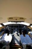 Pilot cockpit Stock Photos