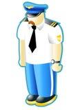 pilot cywilny Obraz Royalty Free