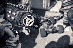 Pilot do TV dla samochodów Zdjęcie Stock