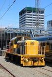 Pilot do TV dostosowywająca dieslowska lokomotywa Wellington Obrazy Stock