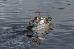 Pilot do TV skala statek przy rywalizacjami Fotografia Royalty Free