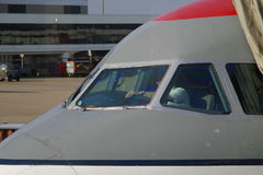 pilot działa pre lotu Obraz Royalty Free