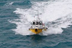Pilot- fartyg Fotografering för Bildbyråer