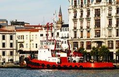 Pilot- fartyg Royaltyfri Foto