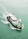 Pilot- fartyg Arkivfoto