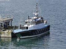 Pilot- fartyg på reserv Royaltyfria Foton