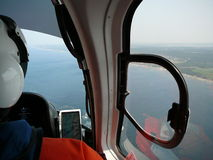 Free Pilot Flying Helicopter Royalty Free Stock Photography - 15984957
