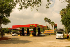 A pilot gas station at fort myers, florida Stock Images