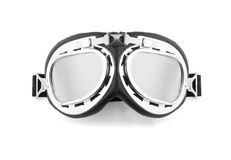 Pilot glasses isolated on white Stock Image