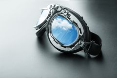Pilot glasses Royalty Free Stock Photos