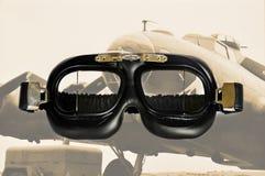 Pilot goggles Royalty Free Stock Photo