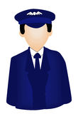 Pilot Icon Royalty Free Stock Image