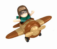 Pilot kid Stock Images