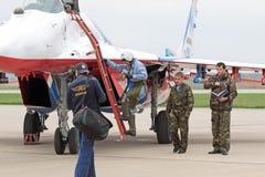 The pilot Royalty Free Stock Photos