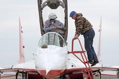 The pilot Stock Photos