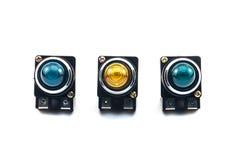 Pilot light switch Stock Image