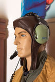 Pilot Mannequin stock photo