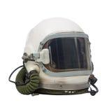 Pilot military helmet Stock Photo