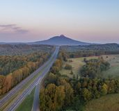 Pilot Mountain stockbild