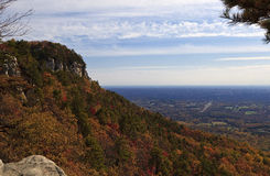 Pilot Mountain Royaltyfri Fotografi