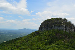 Pilot Mountain Royaltyfria Foton