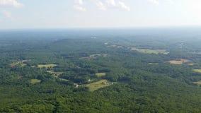 Pilot Mountain i NC Arkivbilder