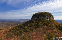 Pilot Mountain i North Carolina Royaltyfri Fotografi