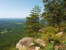 Pilot Mountain State Park lizenzfreies stockbild