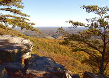 Pilot Mountain State Park Stockfotos