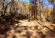 Pilot Mountain State Park Lizenzfreies Stockfoto