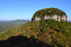 Pilot Mountain State Park- Autumn Stock Photo