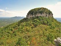 Pilot-Mountain State Park-Berggipfel Lizenzfreie Stockfotografie