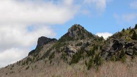Pilot Mountain Timelapse stock video footage