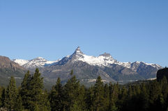 Pilot Peak Montana. Noted Montana mountain peak in wilderness background royalty free stock image