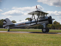 Pilot and Plane - Leesburg Va Airshow Royalty Free Stock Photos