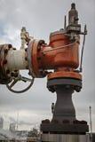 Pilot Pressure Relief Valve för att leda i rör och utrustning Arkivbilder