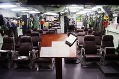 Pilot Ready Room royalty free stock image