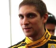 Pilot of Renault F1 Team Vitaly Petrov Stock Photo
