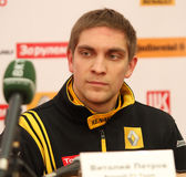 Pilot of Renault F1 Team Vitaly Petrov Stock Images