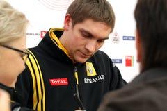 Pilot of Renault F1 Team Vitaly Petrov Royalty Free Stock Photos