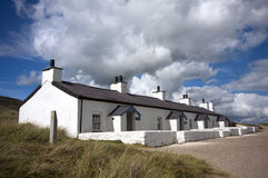 Pilot's Cottages, Llanddwyn Island Royalty Free Stock Images