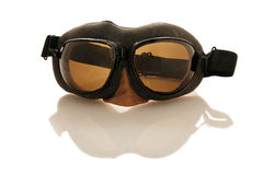 Pilot's goggles Stock Photos