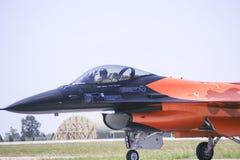 Pilot salute Stock Images