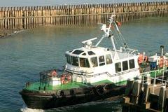 Pilot- ship för belgare royaltyfri foto