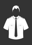 Pilot shirt Royalty Free Stock Images