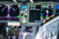 Pilot stripes Stock Photography